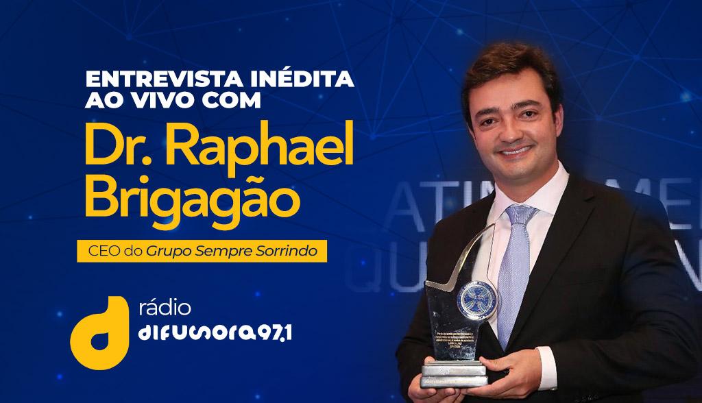 Entrevista inédita ao vivo com Dr. Raphael Brigagão Alcântara na Rádio Difusora