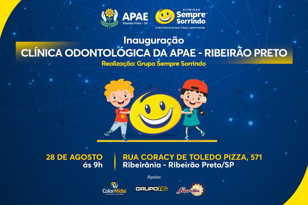 Inauguração Clínica Odontológica da APAE - Ribeirão Preto