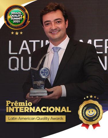 Prêmio Internacional  - Latin American Quality Awards